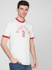 Акция на Футболка 47Brand 47 Free Style Ringer Boston Re 482904-FS M Белая (194165795489) от Rozetka