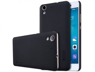 Акция на Чехол NILLKIN для Huawei Y6 II Super Frosted Shield Black от MOYO