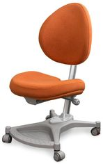 Акция на Кресло Mealux Neapol Or (арт.Y-136 OR) обивка оранжевая однотонная от Stylus