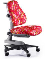 Кресло Mealux Newton Rz (арт.Y-818 RZ) обивка красная с листочками от Y.UA