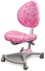 Кресло Mealux Neapol Apk (арт.Y-136 APK) обивка розовая с буквами от Y.UA