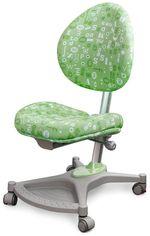 Кресло Mealux Neapol Y-136 Azk обивка зеленая с буквами от Y.UA