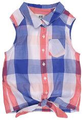 Блузка H&M 3515753 98 см Сине-белая (hm04166599857) от Rozetka