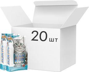 Акция на Упаковка сухого корма для кошек Пан Кот Рыба 20 шт по 400 г (4820111140497-20) от Rozetka