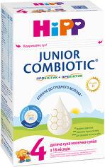 Детская сухая молочная смесь HiPP Combiotiс 4 Junior 500 г (9062300138808) от Rozetka