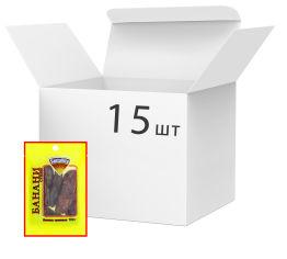 Акция на Упаковка бананов сушеных SantaVita Сlassic 100 г х 15 шт (54820061500568) от Rozetka