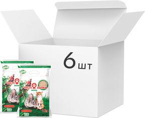 Упаковка наполнителей туалетов Чистые лапки древесный Универсал 6 шт по 3 кг (12 л) (4820137810022-6) от Rozetka