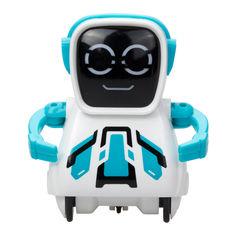 Акция на Интерактивный робот Silverlit Покибот голубой (88529/88529-3) от Будинок іграшок