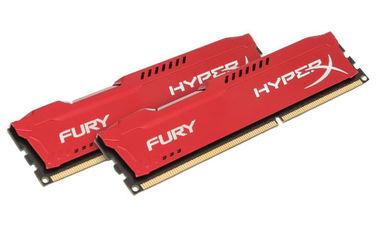 Акция на Оперативная память HyperX DDR3-1866 8192MB PC3-14900 (Kit of 2x4096) FURY Red (HX318C10FRK2/8) от Rozetka