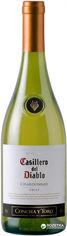 Акция на Вино Casillero del Diablo Chardonnay Reserva белое сухое 0.75 л 13.5% (7804320256900) от Rozetka