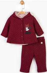 Акция на Костюм (кофта + брюки) Disney Minnie Mouse MN14611 68-74 см Бордовый (8691109761422) от Rozetka