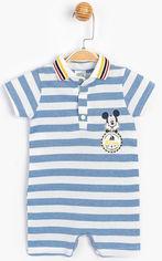 Акция на Песочник Disney Mickey Mouse MC15445 80-86 см Белый с синим (8691109800381) от Rozetka