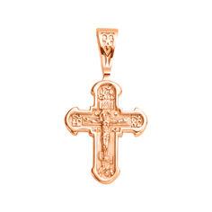 Акция на Православный крестик из красного золота 000125383 000125383 от Zlato
