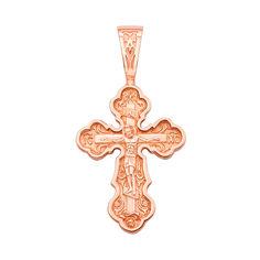 Акция на Православный крестик из красного золота 000130855 000130855 от Zlato