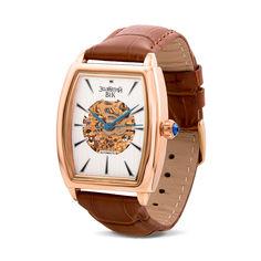 Акция на Наручные часы из красного золота с механизмом скелетон 000134573 000134573 от Zlato
