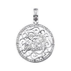 Серебряная подвеска Всевышний Аллах с фианитами 000135092 000135092 от Zlato
