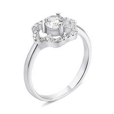 Акция на Серебряное кольцо с фианитами 000134706 000134706 16.5 размера от Zlato