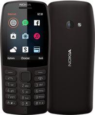 Мобильный телефон Nokia 210 (16OTRB01A02) Black от Територія твоєї техніки