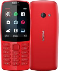 Мобильный телефон Nokia 210 (16OTRR01A01) Red от Територія твоєї техніки