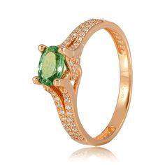 Кольцо золотое с изумрудом, КД7533СМАРАГД Eurogold от Eurogold