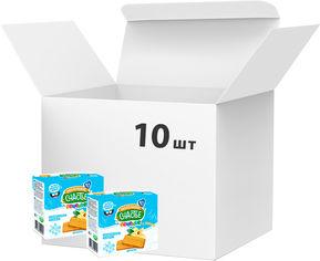 Упаковка печенья Маленькое счастье Ладушки ванильное 100 г 10 шт (24813163002893) от Rozetka