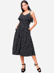 Платье Karree Блейк P1812M5738 M-L Черное от Rozetka