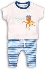 Костюм (футболка + шорты) Minoti Water 7 7559 62-68 см Белый с синим (5059030001865) от Rozetka