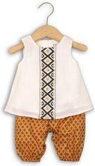 Костюм (майка + бриджи) Minoti Tribal 8 2337 62-68 см Кремовый и горчичный (5033819229756) от Rozetka