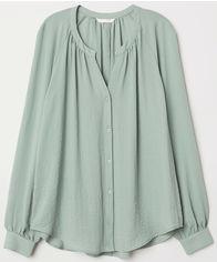 Блузка H&M 3hm06100011 32 Бирюзовая (SHEK2000000286778) от Rozetka