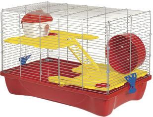 Клетка для хомяка MPS HAMSTER 11 58 x 32 x 38 см Красный поддон (8022967047661) от Rozetka