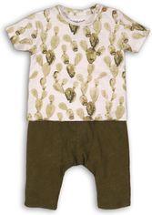 Костюм (футболка + шорты) Minoti Cactus 6 2307 62-68 см Белый с зеленым (5033819227578) от Rozetka