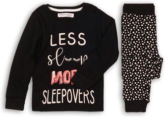 Пижама (футболка с длинными рукавами + штаны) Minoti Hwx 200 12488 98-104 см Черная с белым (5059030182748) от Rozetka