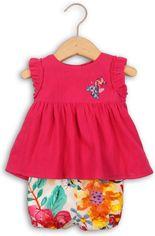 Костюм (туника + шорты) Minoti Bee 6 2515 68-74 см Розовый с белым (5033819230165) от Rozetka