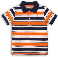 Поло Minoti Club 4 7924 98-104 см Синее с оранжевым и белым (5059030012229) от Rozetka