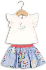 Костюм (майка + юбка) Minoti Rose 5 2321 68-74 см Белый с синим (5033819229268) от Rozetka