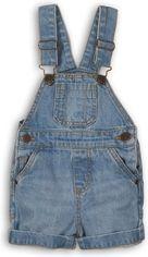 Полукомбинезон джинсовый Minoti Coconut 4 7683 68-74 см Синий (5059030005658) от Rozetka