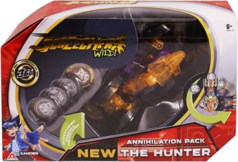 Машинка-трансформер Screechers WILD! S2 L3 - ХАНТЕР (EU684501) от Stylus