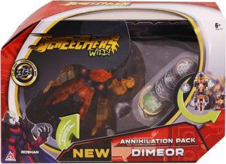 Акция на Машинка-трансформер Screechers WILD! S2 L3 - ДИМИО (EU684502) от Y.UA