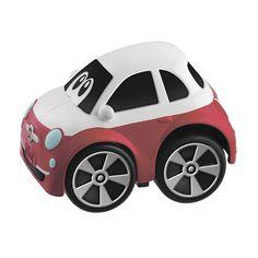 """Акция на Машинка инерционная Mini Turbo Touch, """"Fiat 500 Racer"""" от Chicco"""