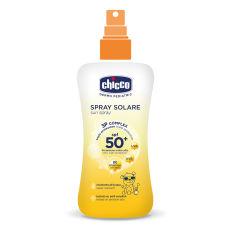 Акция на Cпрей солнцезащитный, 50 SPF, 150 мл от Chicco