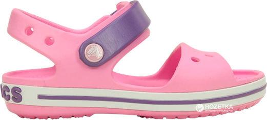 Сандалии Crocs Kids Crocband 12856-6AI-J2 33-34 20.8 см Розовые с фиолетовым (191448106109) от Rozetka