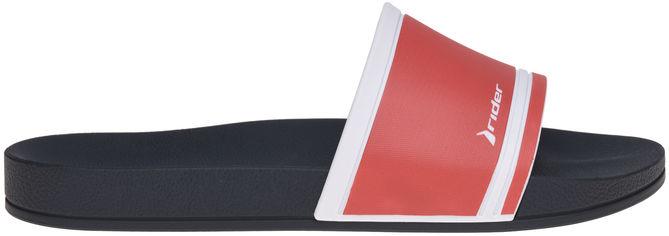 Акция на Шлепанцы Rider 11506_22826 39-40 Синие/красные с белым (7909510217843) от Rozetka