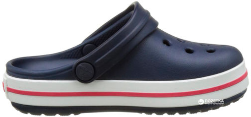 Сабо Crocs Kids Jibbitz Crocband Clog K 204537-485-C5 20-21 12.3 см Темно-синие (887350924527) от Rozetka