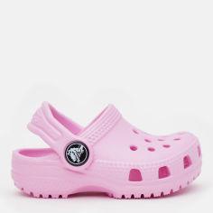 Сабо Crocs Kids Classic Clog K 204536-6I2-C4 19-20 11.5 см Розовые (887350923476) от Rozetka