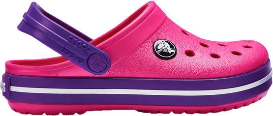 Сабо Crocs Kids Crocband Clog K 204537-60O-J3 34-35 21.7 см Розовый с фиолетовым (191448113169) от Rozetka