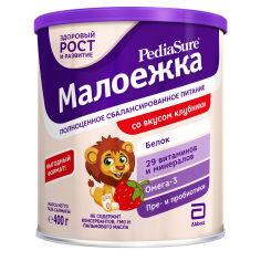 Сухая смесь PediaSure Малоежка со вкусом клубники 400 г (8710428016010) от Rozetka