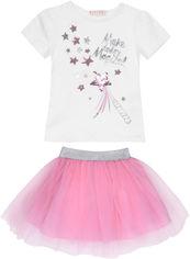 Костюм (футболка + юбка) Bupper BUPP19187 92 см Розовый с молочным (ROZ6300000636) от Rozetka