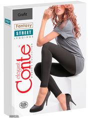 Акция на Трикотажные леггинсы Conte Fantasy Street Plush 170-94 см Grafit (4815003034930) от Rozetka