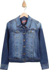 Джинсовая куртка Vingino 1640011 128 см Голубая (Vi09748769335) от Rozetka