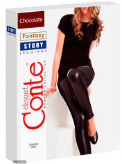 Трикотажные леггинсы Conte Fantasy Story 164-90 см Chocolate (4815003040627) от Rozetka
